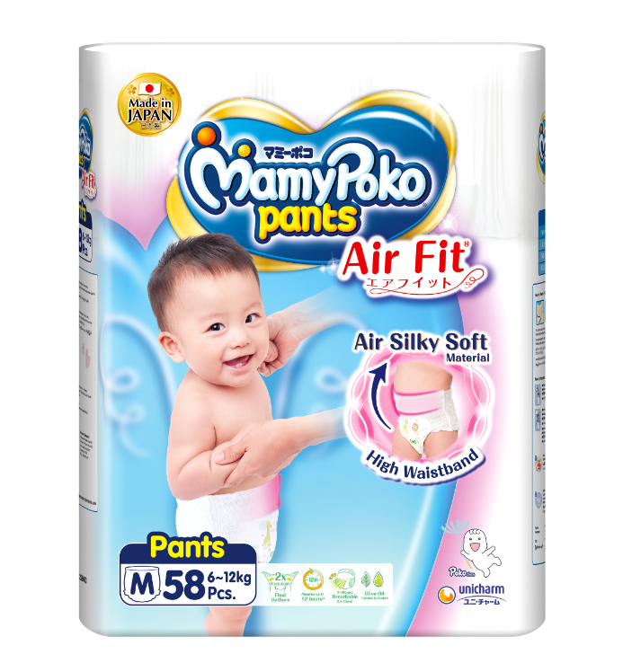 MamyPoko Pants Air Fit Diaper / M