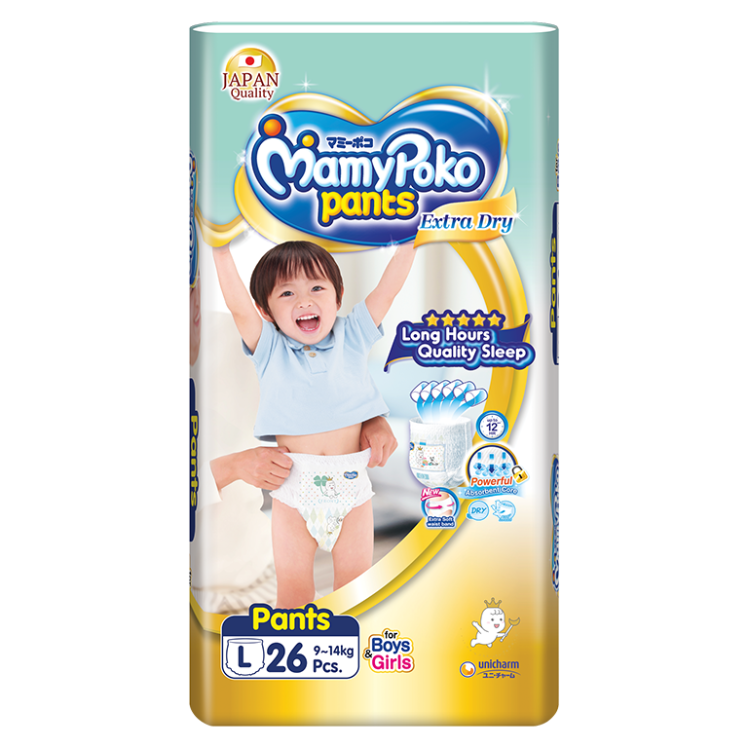 MamyPoko Pants Extra Dry Skin / Size L