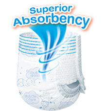 Superior Absorbency