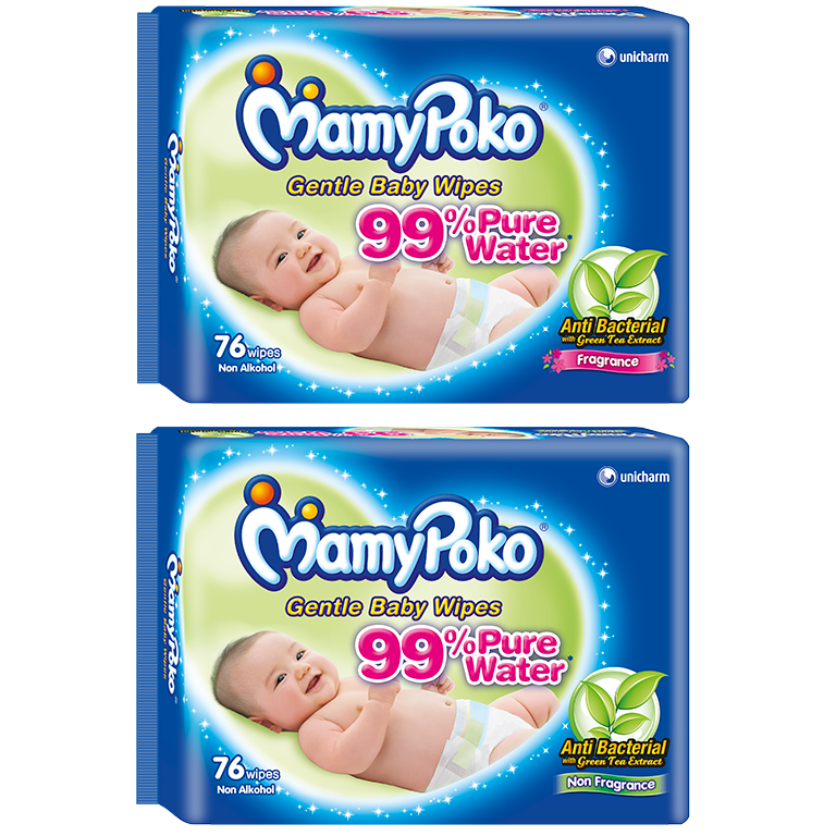 MamyPoko Gentle Cleansing Wipes